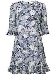 Elm Design Clothing Ganni Dresses Short Dress Elm Georgette Short Dress