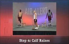 Air Alert Vertical Jump Training Step 4 Calf Raises
