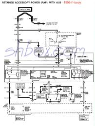 4th gen lt1 f body tech aids retained accessory power rap schematic