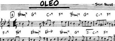Oleo Comping Etude Single Note Solo Chord Shapes