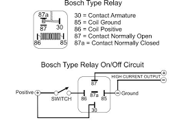 bosch relay wiring diagram wiring diagram schematics modified power wheels turbo button to add extra