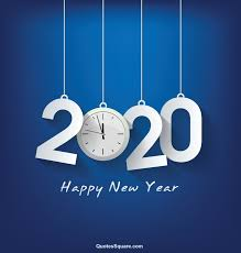 Free Happy New Year Wallpapers 2020 Blue Clock Hd Happy