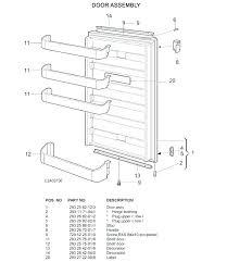 refrigerator door shelves replacements