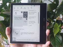 Máy đọc sách Kindle Oasis 2 9th - Siêu phẩm dành cho tín đồ truyện tranh -  Kindle Hà Nội