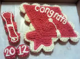Graduation Pull Apart Cupcake Cake Cupcake Cakes Pull Apart