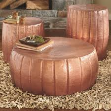 apartments design ideas furniture images about steel drum on copper hammered coffee tables table cherry moroccan top side round lift square stone folding