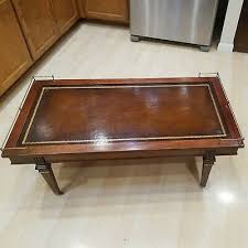 Free shipping on many items. 1900 1950 Leather Top Coffee Table Vatican