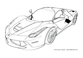 Cool Cars Coloring Pages Awesome Car Coloring Pages And Good Race On