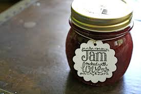 Decorating Jelly Jars Wedding favor tags canning tags set of 100 Jam Packed with 13