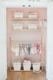 Girl Nursery Closet Ideas