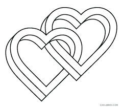 Free Printable Heart Coloring Pages For Kids Draw So Cute Adults