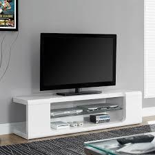 astin monarch modern tv stand  tv console  white media console