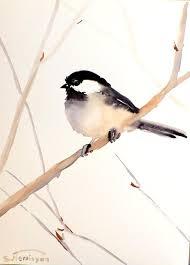 adee original watercolor painting 12 x 9 bird by originalonly