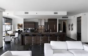 Kitchen Living Room Design Radisson Hotel Calgary Airport Germain Interior Design Kitchen Living Room