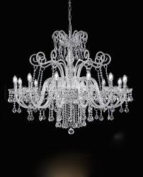 12 lights crystal chandelier