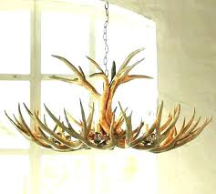 chandelier pottery barn faux antler amazing explosion