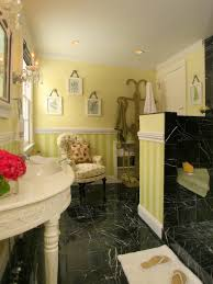 Yellow Bathroom Purple Bathroom Decor Pictures Ideas Tips From Hgtv Hgtv