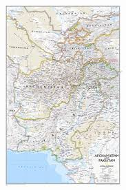 Pakistan is located in southern asia. National Geographic Maps Afghanistan Pakistan Wall Map Wayfair