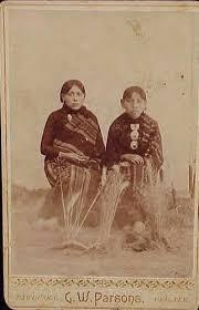 CORA POTTER & ELDA POTTER Native Americans Oklahoma Territory by  DeadFred.com, via F… | Native american peoples, Native north americans,  Native american history