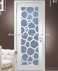laudable glass door design wood glass door design glass insert