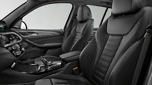 the exclusive interior design of the bmw x3 m40i