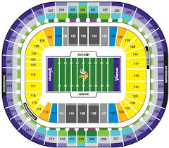 Edward Jones Dome Seating Chart Football Nfl Football Stadiums Minnesota Vikings Stadium
