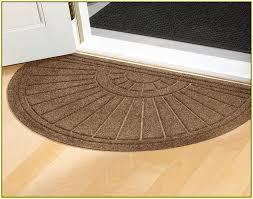 half circle rug home ideas