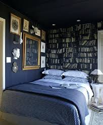 navy blue bedroom walls eclectic bedroom features navy blue ceiling over table paired with full bed
