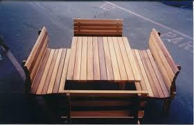 modern seattle patio furniture with cedar cedar picnic outdoor furniture home outdoor