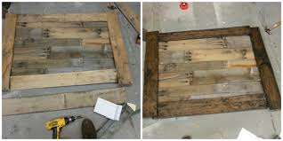 Wood Pallet Table Top Another Great Pallet Idea