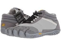 Vibram Five Fingers Womens Size Chart Vibram Fivefingers Trek Ascent Insulated Womens Shoes Grey