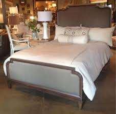upholstered headboard and footboard king. Unique Footboard Solid Wood Bed With Upholstered Headboard And Footboard By HGTV Home  Collection Bassett 68 To Upholstered Headboard And Footboard King H