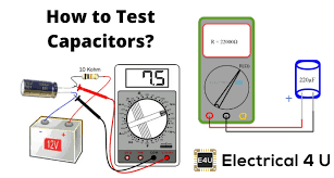 how to test a capacitor using a