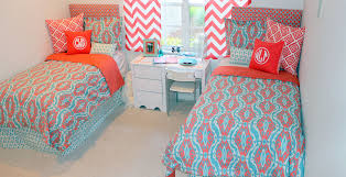turquoise and gray bedding