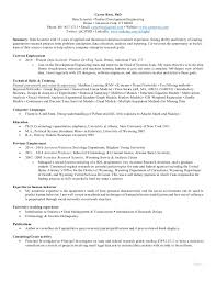 Data Scientist Resume Objective Best Of Carter Rees Resume