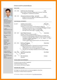 Professional Curriculum Vitae Interesting Curriculum Vitae Template Pdfcurriculum Vitae Samples Cv Examples