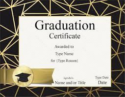 Certificate Templates: Graduation Certificate Template Preschool ...