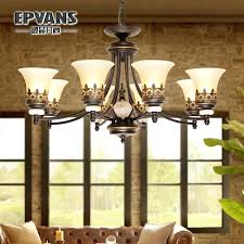 get ations a retro rustic wrought iron chandelier restaurant bedroom lamps living room book kitchen small china