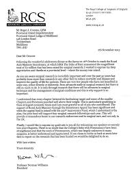 royal arch appeal letter of thanks from president of the rcs letter nov 2013