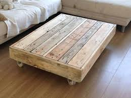 coffee table rustic coffee table with wheels diy handmade wood coffee tablerustic coffee table with wheels