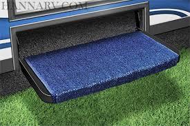 prest o fit 2 1071 wraparound plus rv step rug blue