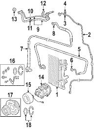 parts com® dodge line a c discharge partnumber 4596892ac 2008 dodge charger se v6 3 5 liter gas condenser compressor lines