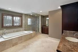 bathroom remodeling dc. Large Clean Master Bath Design W/ Soak Tub \u0026 Glass Shower Bathroom Remodeling Dc