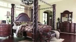 Ashley North Shore Panel Bed Bedroom Set SALE YouTube Attractive Furniture  Regarding ...