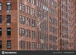 Viele Fenster Im Gebäude In New York City Stockfoto Fla 180161194