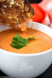 Homemade Tomato Soup Easy Tomato Soup Recipe A Clean Bake