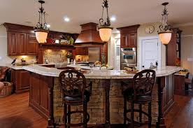 Small Kitchen Counter Lamps Small Kitchen Remodeling Ideas With Elegant Pendant Lighting And