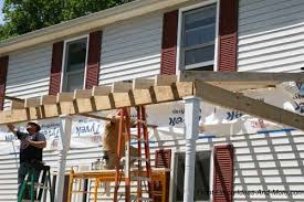 building a porch roof porch roof