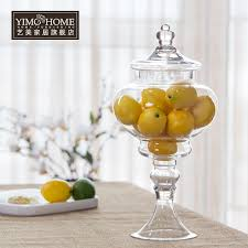 Large Decorative Glass Jars With Lids Click to Buy