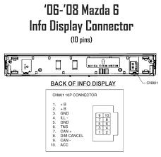 6 double din page 4 mazda 6 forums mazda 6 forum mazda 2012 Mazda 6 at 2014 Mazda 6 Wiring Harness